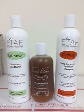 ETAE E'tae Natural Products - Shampoo Conditioner Carmel Treatment (3 items)