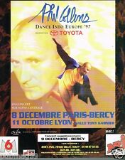 Publicité advertising 1997 Concert Phil Collins Paris Bercy