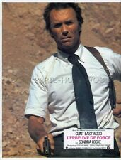 CLINT EASTWOOD THE GAUNTLET 1977 VINTAGE LOBBY CARD #2
