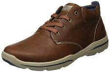 Skechers Relaxed Fit Mens Harper - Melden Sneaker Shoes, Luggage, US 12