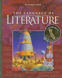 The Language of Literature textbook (2006, Hardcover)