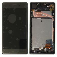 Pantalla Sony LCD completo con marco para Xperia x f5121 f5122 negro pieza de repuesto