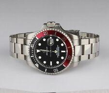 Caballeros Negro/bisel PEPSI, S/Ste Submariner Estilo Reloj, mejor calidad del resto