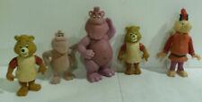 Teddy Ruxpin PVC figurines lot 5 1980s Grunge Wooly Whatsit flocked