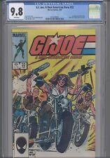 G.I. Joe #32 CGC 9.8 1985 Marvel: 1st Recondo Blow Torch Ripcord LadyJ NEW Frame