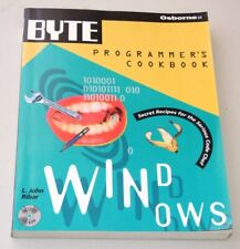 Book: Byte Programmer's Cookbook for Windows with CD-Rom disc