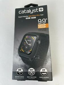 Catalyst Impact Case and Band Apple Watch Series 6 5 4 SE 44mm - Black