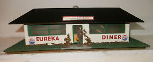 American Flyer Rare 1953 Version 275 Green Eureka Diner Close To New