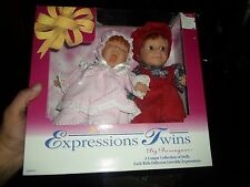 Berenguer Expressions TWINS Doll Set - NIB Boy and Girl