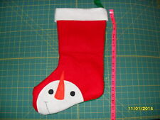 Christmas Stocking - Handmade (Snowman)