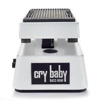 Dunlop CBM105Q Cry Baby Mini Bass Guitar Wah Effects Pedal Volume Q Control