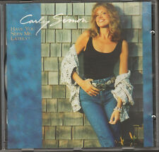 CARLY SIMON Have You Seen Me Lately NEW CD 11 track LYRICS  1990