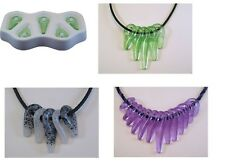 Awesome! TRIBAL BEADS Colour De Verra Glass Frit  Casting Mold Fusing Supplies