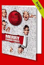 BIG BANG THEORY (No2) Autograph Christmas Card Print INCLUDES ENVELOPE A5 Size