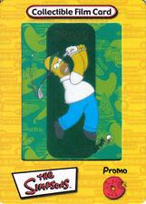 SIMPSONS FILM CARDZ YELLOW PROMOTIONAL CEL CARD