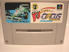 super nintendo F1 CIRCUS   jeu JAP  nes snes Famicom