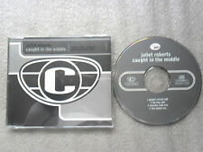 CD-JULIET ROBERTS-CAUGHT IN THE MIDDLE-HIP HOP-MONSTER-(CD SINGLE-4TRACK-CD MAXI