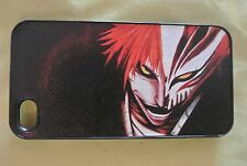 USA Seller Apple iPhone 4 & 4S  Anime Phone case  Cover Bleach Kurosaki Ichigo