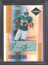 2006 LEAF LIMITED MONIKERS AUTO AUTOGRAPH GOLD RONNIE BROWN DOLPHINS #ED 16/23