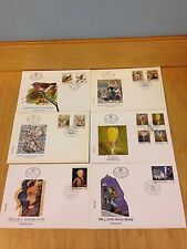 YUGOSLAVIA  1991 & 1992 Lot of 12 ~First Day Covers Lot of 88 Stamps~L75 *