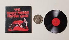 "Miniature record album Barbie Gi Joe  Playscale1/6  2""   Rocky Horror Halloween"
