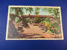 Mission San Juan Capistrano, California Vintage Colorful Postcard Unused Pc14