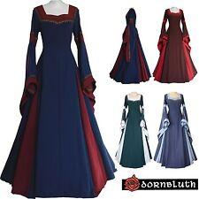 Abito Veste Medioevale Guinevere Su Misura Scelta Colore Costume Medievale