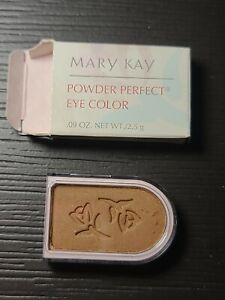 lot of 2 Mary Kay Powder Perfect Eye Color NIB Color Gingerspice , brown
