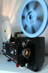 ELMO K100 SM  SUPER 8  STANDARD 8MM CINE FILM PROJECTOR FULLY SERVICED