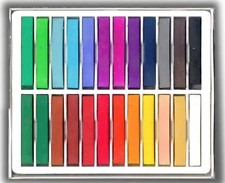 Koss 24 Soft Chalk Pastels Set for Art Drawing, Scrapbooking etc.- Asst. Colors