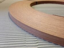 Sapele(mahogany) Unglued Wood Veneer Edging 2mm Thick x22mm x 100m Edgebanding