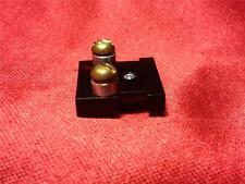 """Headshell 1/2 1/2"""" Cartridge Adapter Sled Dual Turntable with Screws Hardware"""