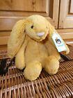 Jellycat Small Bashful SAFFRON Bunny Rabbit Soft Toy New