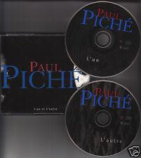 PAUL PICHE L'Un et L'Autre 2- CD 28 Songs 2-Disc FRENCH Piché