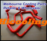 Red Silicone Radiator Heater Hose VS 3.8L V6 1995-1997 for Holden COMMODORE 1996