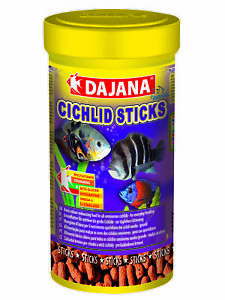 Cichlid Sticks 250ml/80G, color-enhancing for cichlids, for everyday feeding