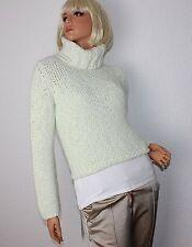 Grobe Damen-Pullover & -Strickware mit Rollkragen aus Wolle