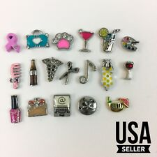 18 Piece Lot Of Origami Owl Charms For Necklace or Bracelet (USA Seller)