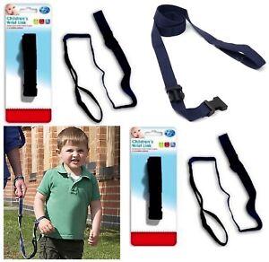 2 x Toddler Baby Children Wrist Link Child Walking Safety Rein Strap Harnes New