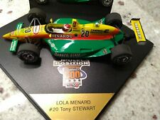 Indy 500 1996 Tony Stewart Menards Onyx Diecast 1:24 IRL w/ Case