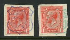 Used George V (1910-1936) British Fiscal & Revenue Stamps