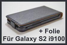 Handytasche für Samsung Galaxy S2 i9100 Schutzhülle Case Cover Etui Tasche Flip