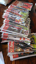 Complete set of Arsenal home programmes from the 2002/03 season