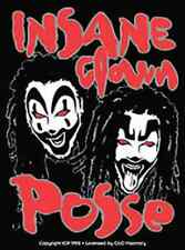 INSANE CLOWN POSSE Clown Faces Sticker NEW OFFICIAL MERCHANDISE RARE ICP Juggalo