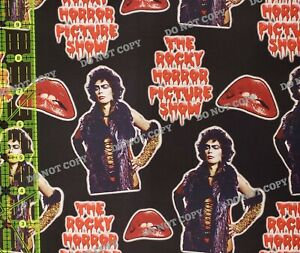 Custom 100% Cotton Woven Fabric The Rocky Horror Picture Show By the 1/4 Yard