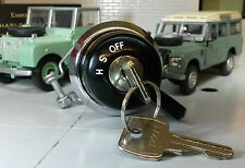 Land Rover Series 1 2 Lucas Sidelight Headlight Ignition Switch Knob Barrel Keys