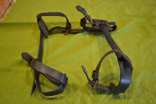 Vintage Buckingham Mfg company  16 in. Pole climbing Spikes (Gaffs) w/straps
