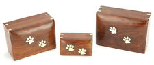 Elstree Wooden Cremation Ashes Pet Urn 5""