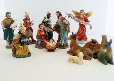 12 Piece Christmas Nativity Set Jesus Christ Statue Figurine Figure Religion