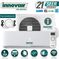 24000 BTU Mini Split Air Conditioner COOL ONLY Ductless 230V INNOVAIR 21 SEER